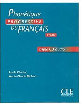 Phonétique progressive du français - Niveau avancé - CD audio collectif