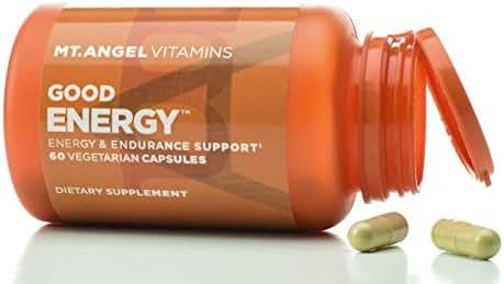 Mt. Angel Vitamins - Good Energy, Energy & Endurance Support (60 Vegetarian Capsules)