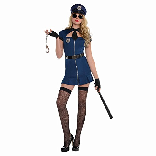 Amscan Bad Cop Adult Costume - (Good Cop Bad Girl Costume)