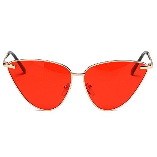 sol Las sol Gafas Shop sol gafas generales masculinas 6 sol Gafas mujer de Cuatro personalidad metal de y de de gafas de de femeninas para Opgxqpw