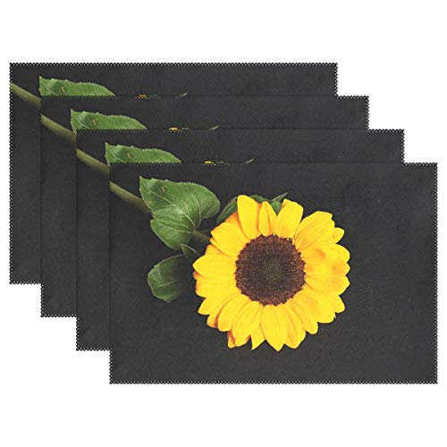 Top 9 Recommendation Sunflower Placemats Plastic For 2019