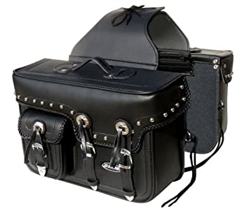 c18dd2ed06 Oxide Black L Bags Pair Tek leather Motorcycle Panniers bike panniers motorcycle  saddlebags travel bag  Amazon.co.uk  Car   Motorbike