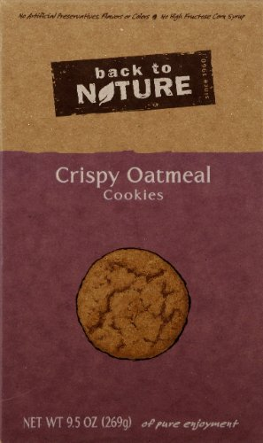 Back To Nature Cookie Oatmeal