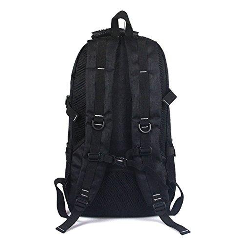 AMOS Los hombres y las mujeres del bolso de hombro del morral del recorrido de la capacidad grande empaquetan el bolso al aire libre de la computadora del bolso del ocio que sube