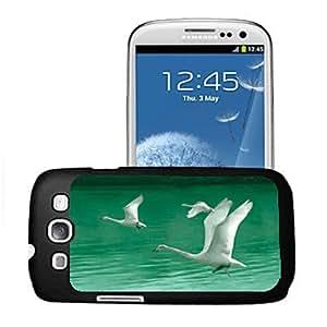 SOL Swan Pattern 3D Effect Case for Samsung S3 I9300