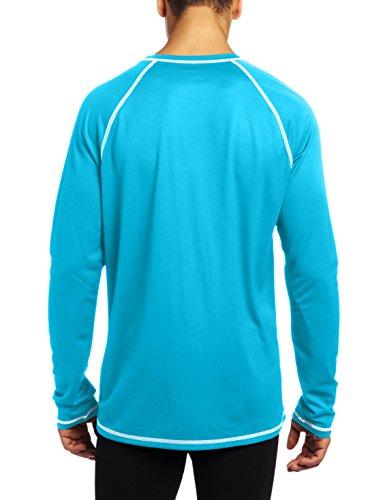Speedo Men's UPF 50+ Easy Long Sleeve Rashguard Swim Tee