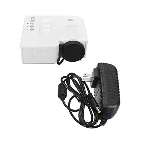 UC28B Mini Portable LED Projector 1080P Multimedia Family Cinema Home Theater USB TF Card Input Mini Beamer for PC Laptop