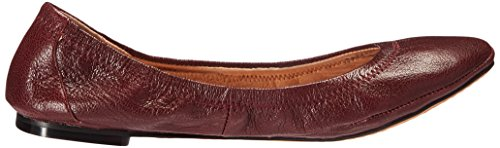 206 Burgundy Collective Flat Leather Ballet 206 Parker Collective Womens PnxHvqz