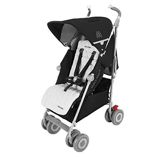 Maclaren Techno XLR Pushchairs (Black/Silver) - 2016 Rang...