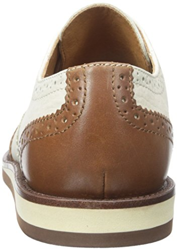 Polo Ralph Lauren Mens Johnsly Suede Oxford Polo Marrone Chiaro / Avorio