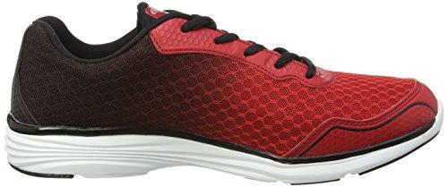 Gola VALLIS - Zapatillas de running hombre Rojo (rojo/negro)