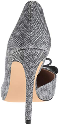 636d4d80816 Betsey Johnson Prince Womens Shoes Pewter D orsay Evening PUMPS ...