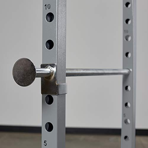 Rep PR-1100 Power Rack - 1,000 lbs Rated Lifting Cage for Weight Training (Silver Power Rack, No Bench) by Rep Fitness (Image #2)