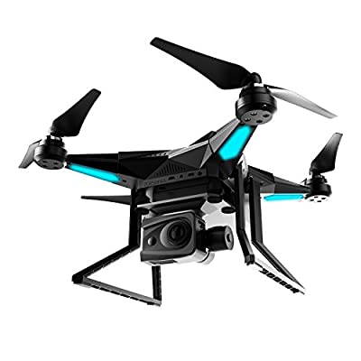 iDrones iDrones1 Quadcopter with 4K HD Camera 2-Axis Gimbal (Black)