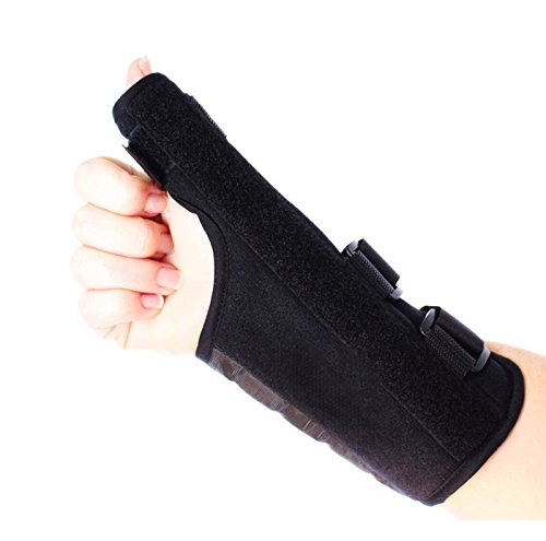 Comfort Care Thumb Support Brace - Right Hand - Fitness - Rheumatoid Arthritis - Training - Health - Beauty - Men - Women - Hands - Treatment - Exercise - Joint - Wellness - Muscle - Hurt - Severe - Aching - Swollen - Painful - Personal - Sore - Reme