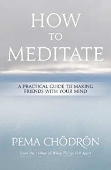 Meditation: How to Meditate: A Practical Guide to Making Friends with Your Mind by [Chödrön, Pema]