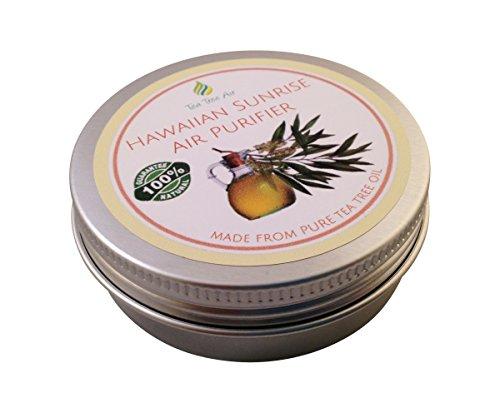 Tea Tree Air Purifier Hawaiian Sunrise (2.2oz) ✔ Coconut Air Purifier Cream, Kills Mold, Attacks Mildew, Car Air Freshener, Air Conditioner - Ideal for kitchen, bathroom, car. ON SALE $13.95 ✔