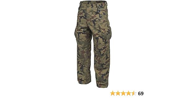 Helikon Genuine BDU Pantaloni policotone Ripstop Woodland taglia L Lungo