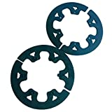 HDM Black Aluminum Sprocket Guard Kit Chain Guide Shield Set Go Cart Kart Racing 35