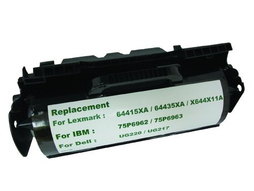 Ibm Waste Toner - PRESERVE 845-5HX-MZN Lower Cost Extra Yield Toner Replaces Lexmark 64415XA 64435XA X644X11A