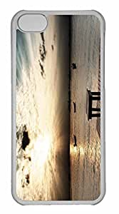 iPhone 5C Case, Personalized Custom Time for iPhone 5C PC Clear Case