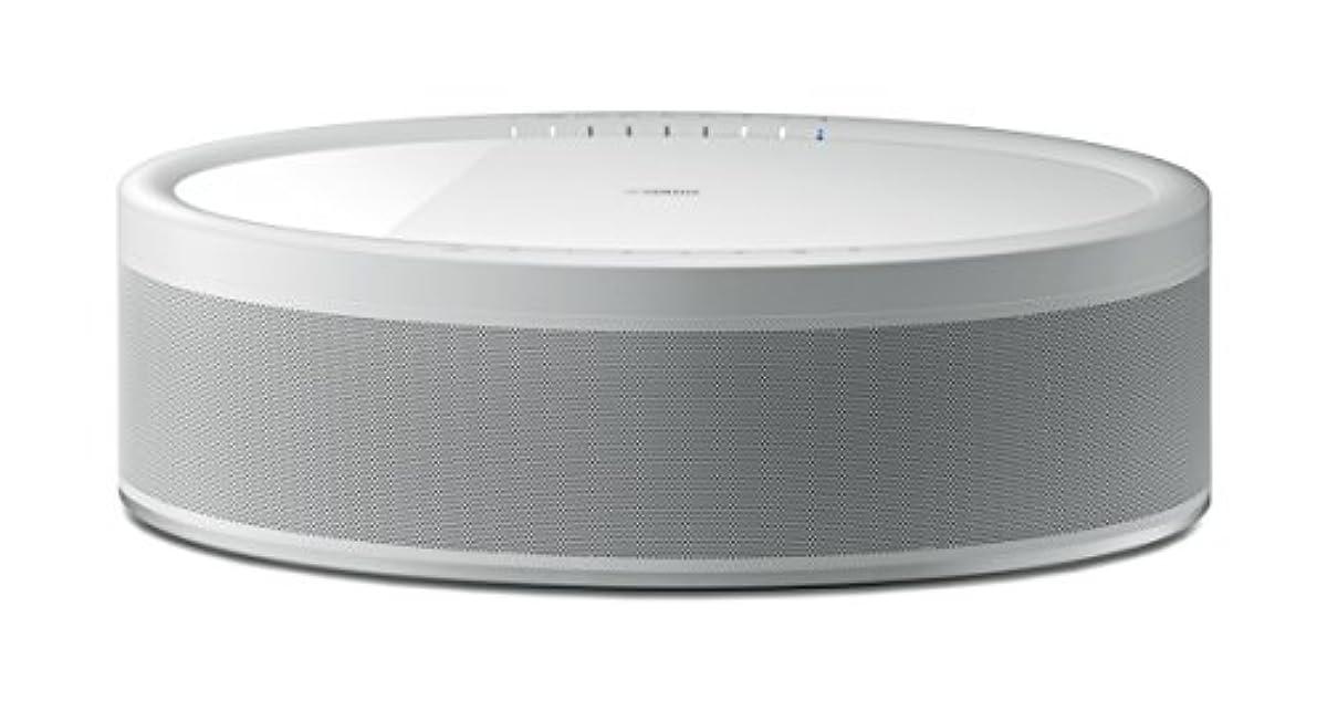 [해외] 야마하 wireless 스트리밍 스피커 MUSICCAST50W 앰프 내장/WI-FI/BLUETOOTH/MUSICCAST대응 화이트 WX-051(W)