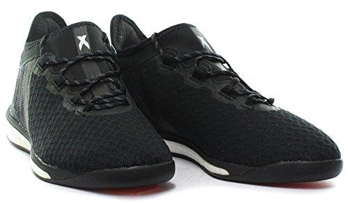 adidas X 16.1 Street, Men's Calcio Allenamento Cblack/Ngtmet/Solred