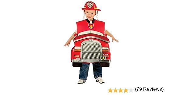 Disfraz de Marshall Patrulla Canina deluxe para niño: Amazon.es ...