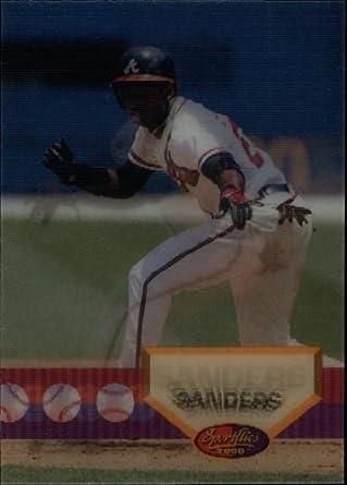 Amazoncom 1994 Sportflics Baseball Card 108 Deion Sanders Near