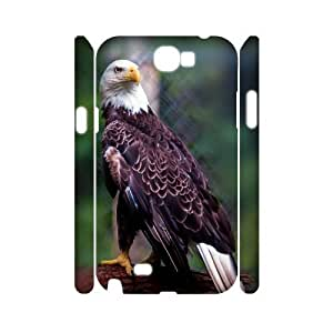 Animals Eagles 3D-Printed ZLB558874 Custom 3D Phone Case for Samsung Galaxy Note 2 N7100