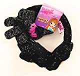 Bratz Girls Black Winter Gloves & Earmuffs 2-Piece Set Sz: 4-12 Years