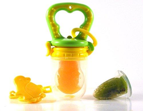 Silicone Baby Feeder Feeding L (yellow) - 7