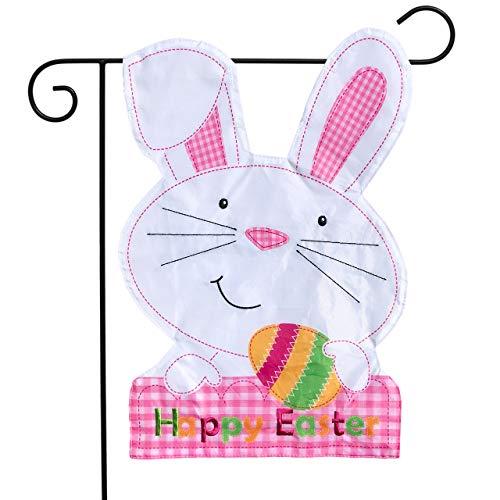 Briarwood Lane Easter Bunny Applique Garden Flag Holiday Scl