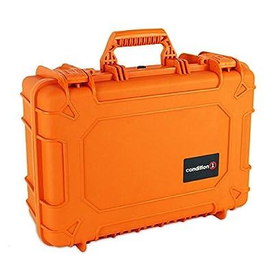 Image of Condition 1 18' Medium #801 Orange Waterproof Hard Case with DIY Customizable Foam Electronics & Gadgets