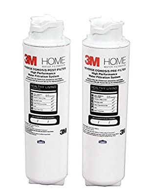 3M Quick Change RO Under Sink Pre/Post Filters
