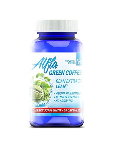 ALFIA Green Coffee Bean Extract Lean