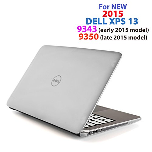 "CLEAR iPearl mCover Hard Shell Case for 13.3"" Dell XPS 13 93"