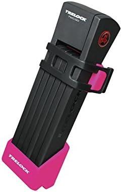 Faltschloss Trelock TWO.GO mit Halter FS200//75 pink m Halter ZF200 Schl/üssel