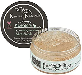 product image for Karma Organic Rosemary Mint Scrub – Superfluous Moisturizing and reduces the extra oiliness