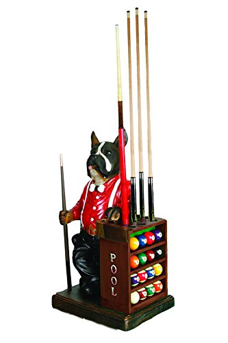 RAM Gameroom Products 30-Inch Dog Pool Cue and Ball Holder