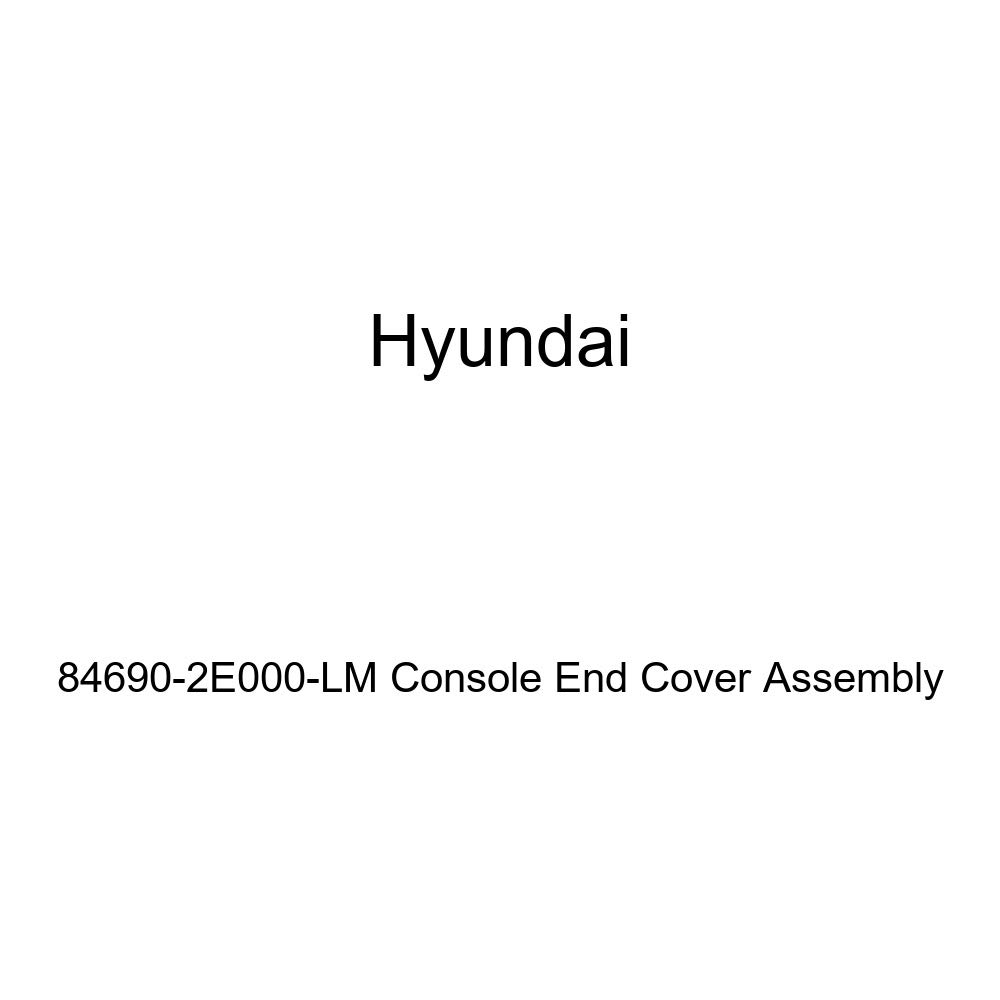Genuine Hyundai 84690-2E000-LM Console End Cover Assembly