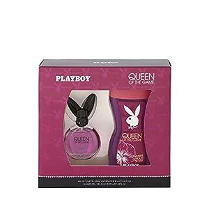Corine de Farme – Coffret Playboy Queen Of The Game – Coffret Cadeau pour Femme – Eau de Toilette 40 ml et Gel Douche…
