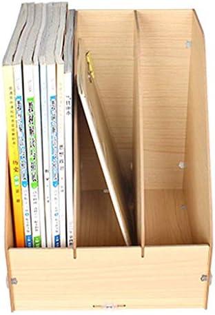 Aktenhalter Einfaches Bücherregal Ablagebox Aktenhalter (Farbe: B) Xping (Color : B)