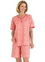 AmeriMark Women's Print Shorty PJ Set