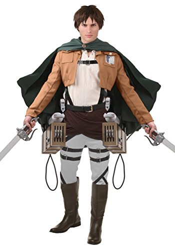 (Deluxe Attack on Titan Eren Yaeger Costume)