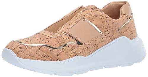 Donald J Pliner Women's Karli-CO Sneaker, Natural, 10 B US