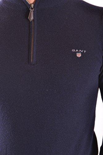 Gant Herren MCBI131102O Blau Wolle Sweater