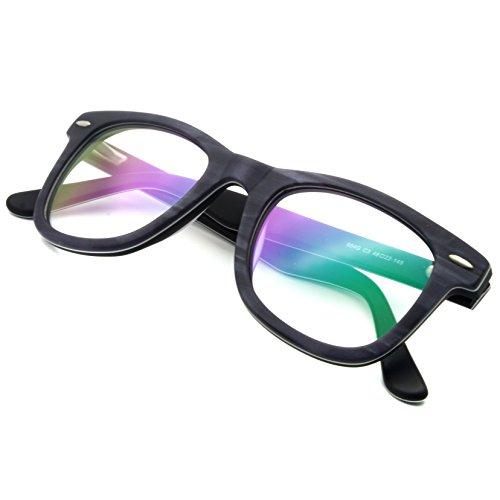 Wayfarer Acetate Glasses Non-Prescription Eyewear