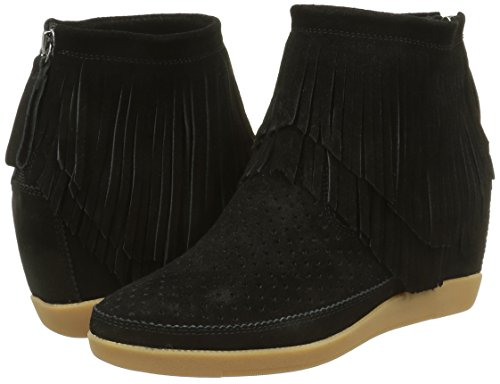 Altas Bear black Shoe Fringes The Emmy Negro Para Zapatillas Mujer fnqwFX