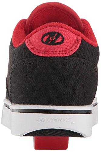 Heelys Lancering Skate Schoen (peuter / Klein Kind / Grote Jongen) Zwart / Zwart / Rood